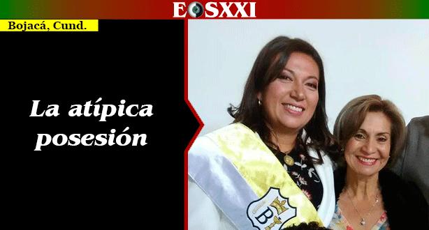 Marcela Gaitán ya es la nueva alcaldesa titular de Bojacá