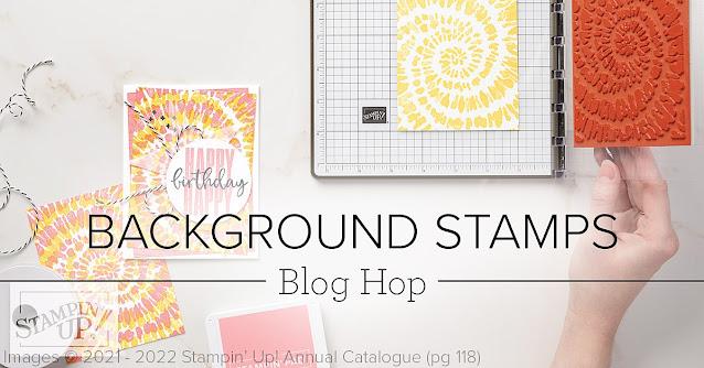 Crafty Collaborations Background Stamps Blog Hop Banner