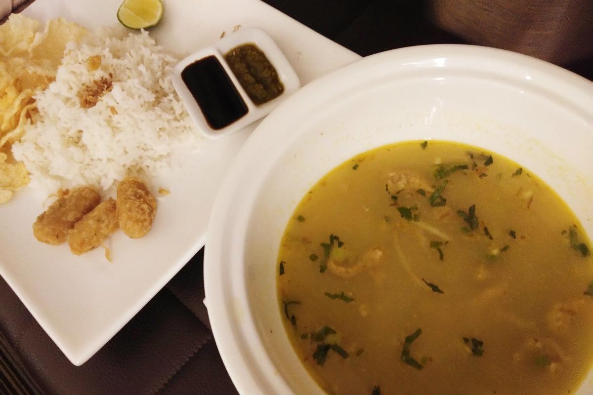 Room Service Hotel Radisson Medan: Soto Ayam Medan