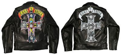 Gambar Jaket Kulit Guns N Roses GNR