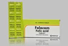 Folacom Tablet : Vitamin Asam Folat Untuk Ibu Hamil