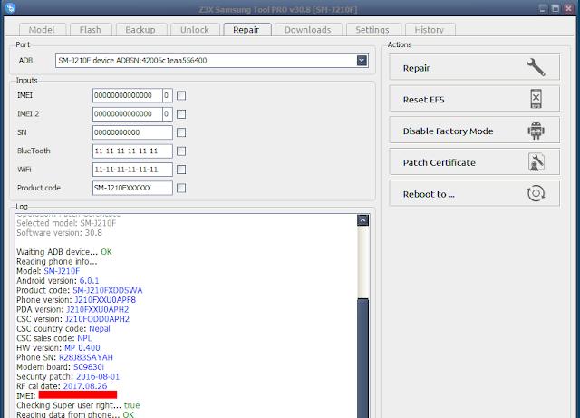 Samsung Tool PRO 30.8 Update.