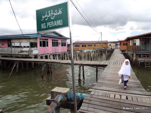 PUEBLO FLOTANTE KAMPONG AYER. Brunéi