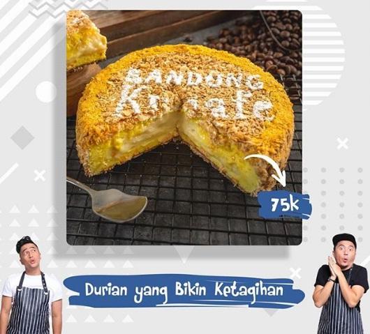 kunafe durian oleh oleh kekinian bandung