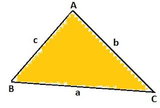 विषमबाहु त्रिभुज का क्षेत्रफल