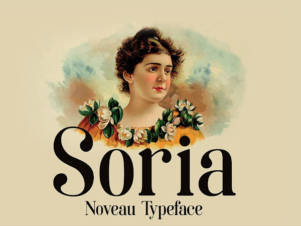 Download Soria Display Font Free