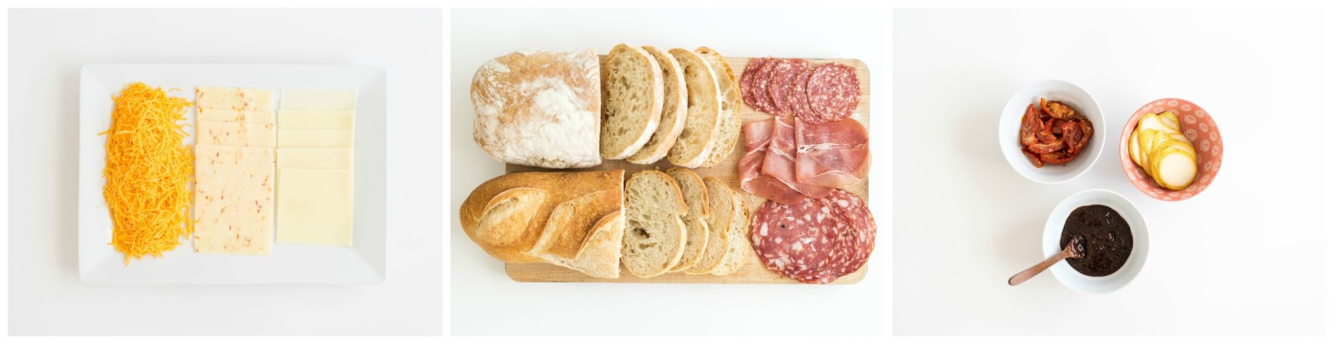 what to buy for a food bar, party food ideas, kids party, tailgating, sports, charcuterie, kraft natural cheese, salame, proscuitto, recipe