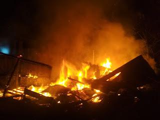 Rantau Rasau Berduka Lagi, Dua Rumah Warga Hangus Terbakar