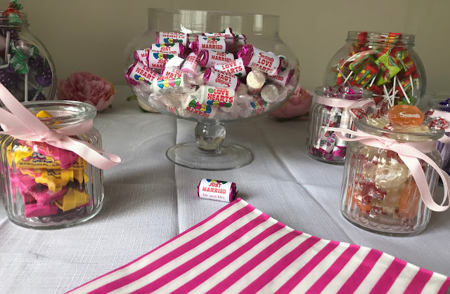 sweets for a candy buffet