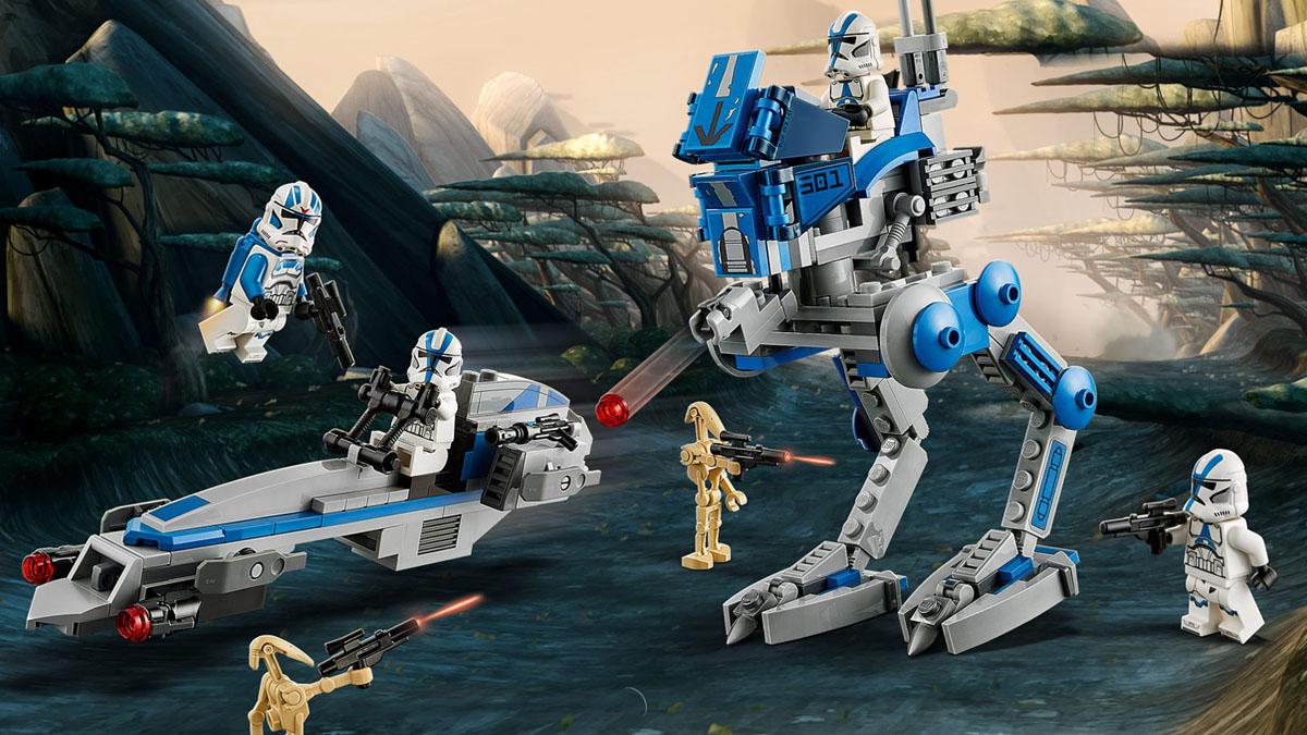 75280 第501大隊クローン・トルーパー:レゴ(LEGO) スター・ウォーズ