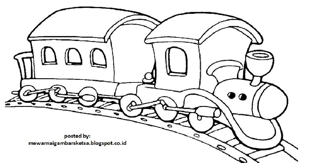 Mewarnai Kereta Related Keywords Suggestions Mewarnai Kereta