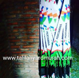 Jual Tali Lanyard Digital Printing Murah Pertamina