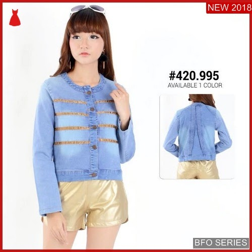 BFO162B30 JAKET Model JEANS BASIC Jaman Now LIST BMGShop