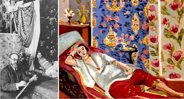 "Henri Matisse ""Odaliska w czerwonych szarawarach"" (1925) Mesee de l'Orangerie Paris"