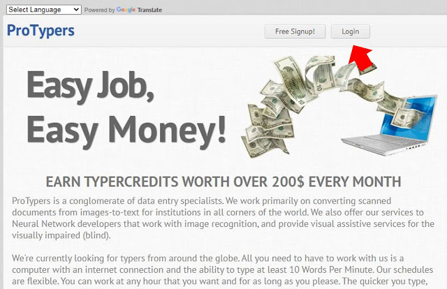 Online Data Entry Jobs with Protypers - How to work on Protypers properly