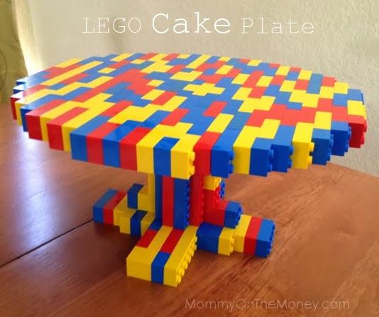 Vegan Mom Blog Therightonmom Lego Cake Plate