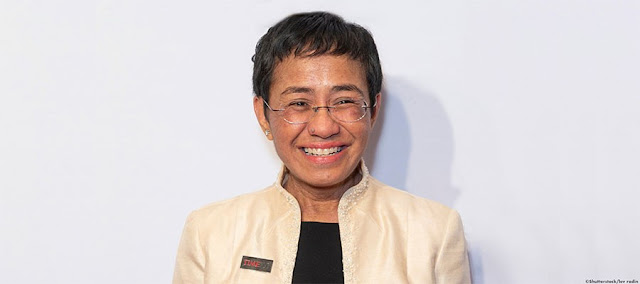 La periodista filipina Maria Ressa gana Premio Mundial de la Libertad de Prensa UNESCO/Guillermo Cano 2021