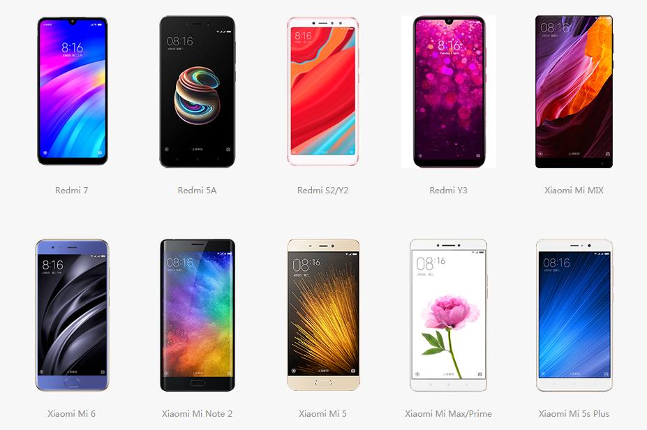 Handphone Android Xiaomi