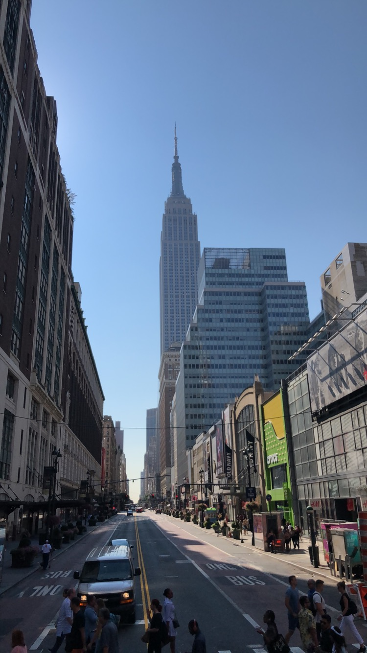 Stephanie Kamp Blog: New York Summer 2018 Day 4