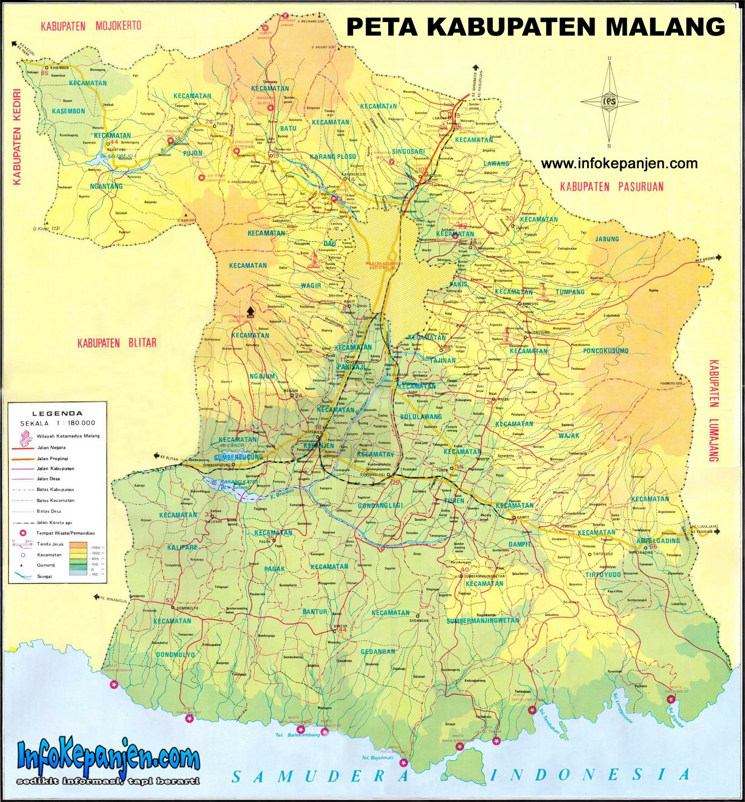 "Peta Malang Raya: Search Results For ""Peta Jawa Timur"""
