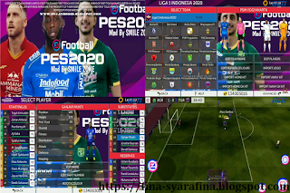 FTS Mod PES 2020 Smile Zone