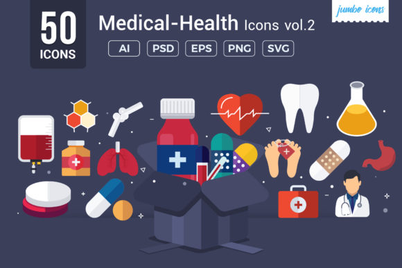 Medical / Health Vector Icons Graphic