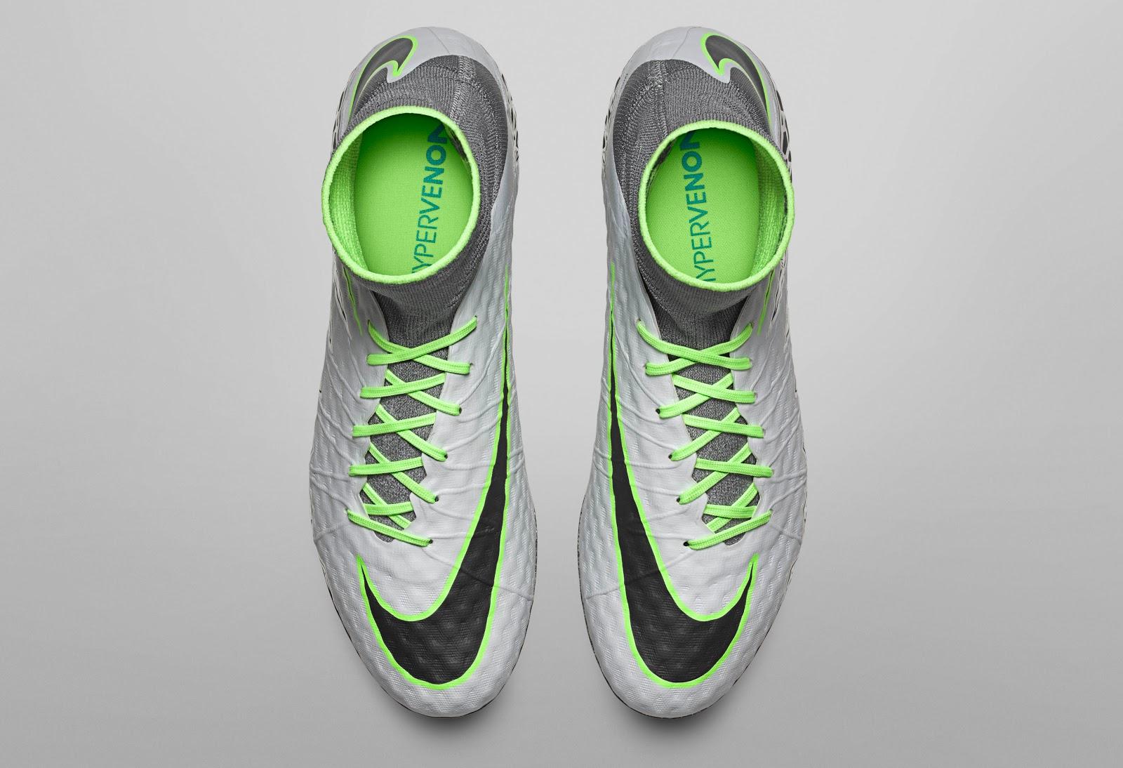 promo code 9d228 1e206 ... Die hellgrauen Nike Hypervenom Phantom Fußballschuhe, die ab dem 16.  August 2016 erhältlich sein ...