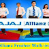 Bajaj Allianz Freshers Walk-ins From 10th to 13th October 2017