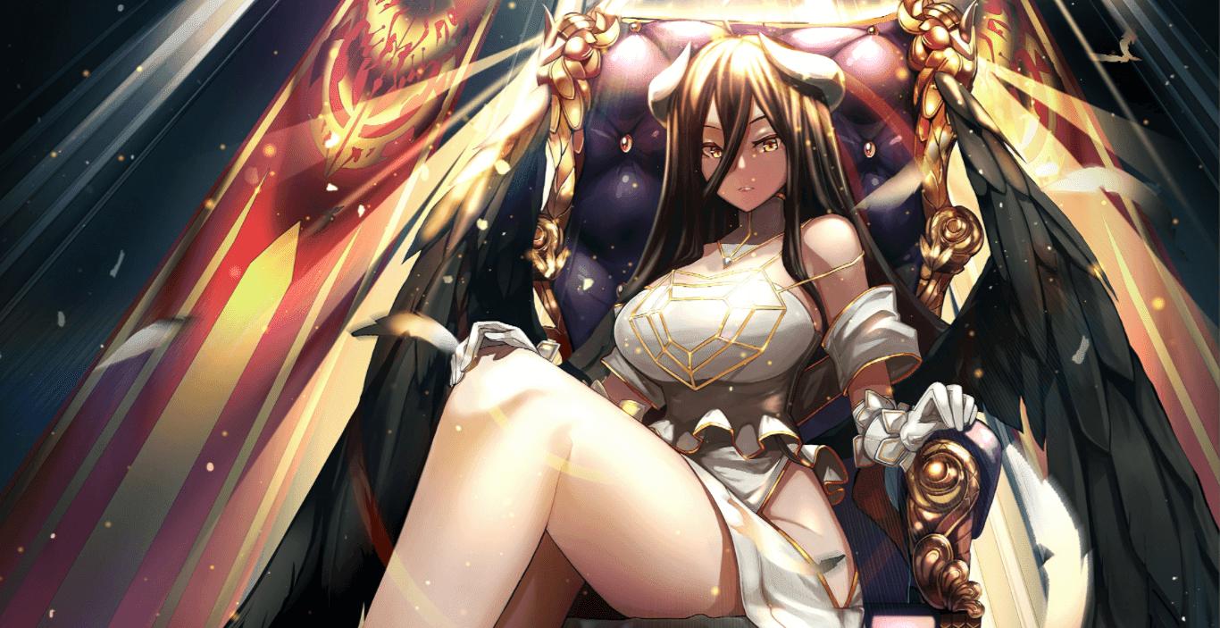 Albedo Wallpaper 4K(Overlord) [Wallpaper Engine Anime]