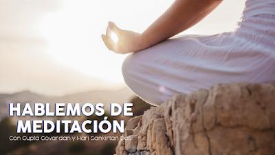 Audio: Hablemos de meditación - Charlas en cuarentena