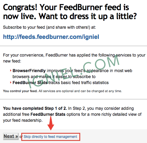 Layanan Subscribe Email FeedBurner Untuk Blog