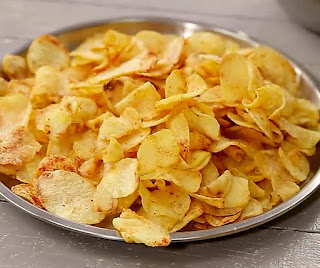 How to make potato chips step by step