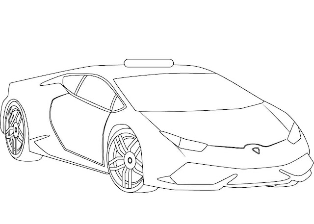Desenhos de carros para pintar