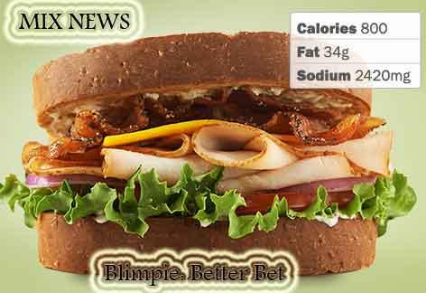 Diet,debris,wors,double grip,sandwiches, Blimpie: Better Bet ,Diet debris and worst double grip sandwiches