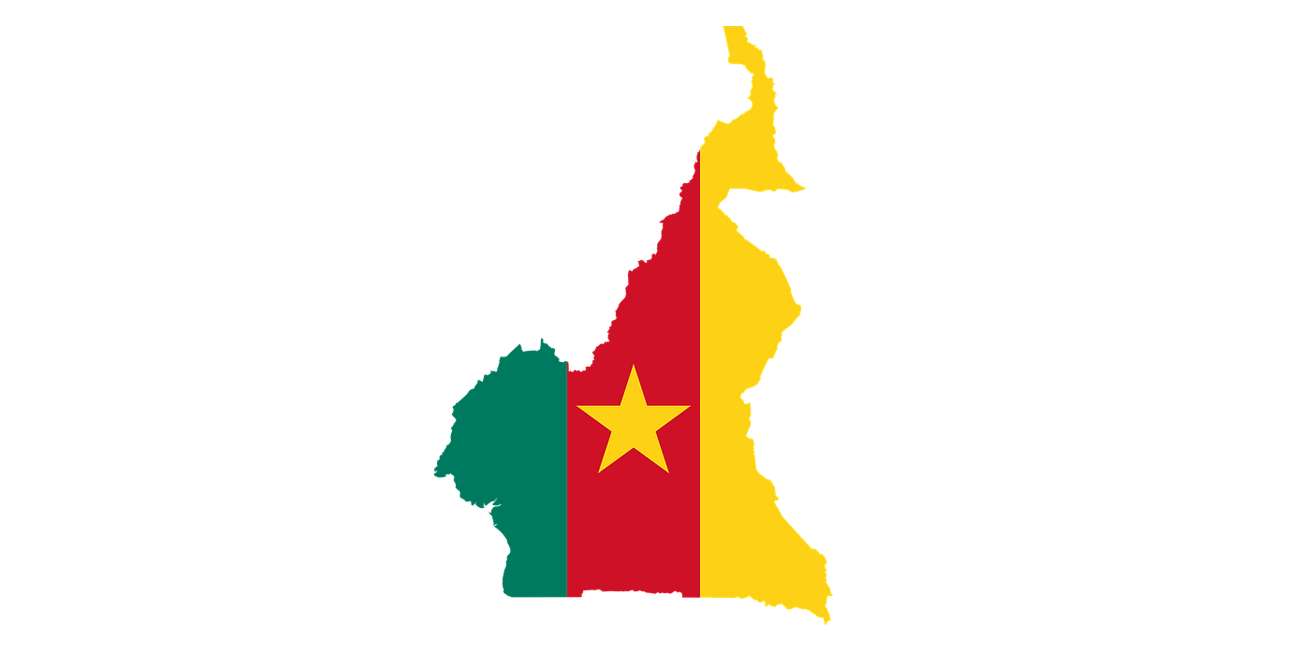 Download Free Cameroon Country, Cities and Places GIS Shapefile Map Layers