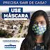 Prefeitura de Eunápolis recomenda uso de máscara ao sair de casa