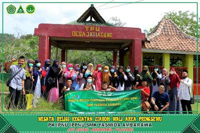 Ziarah PK IPNU IPPNU SMK Yasmida Ambarawa Ke Tiga Tempat Penting