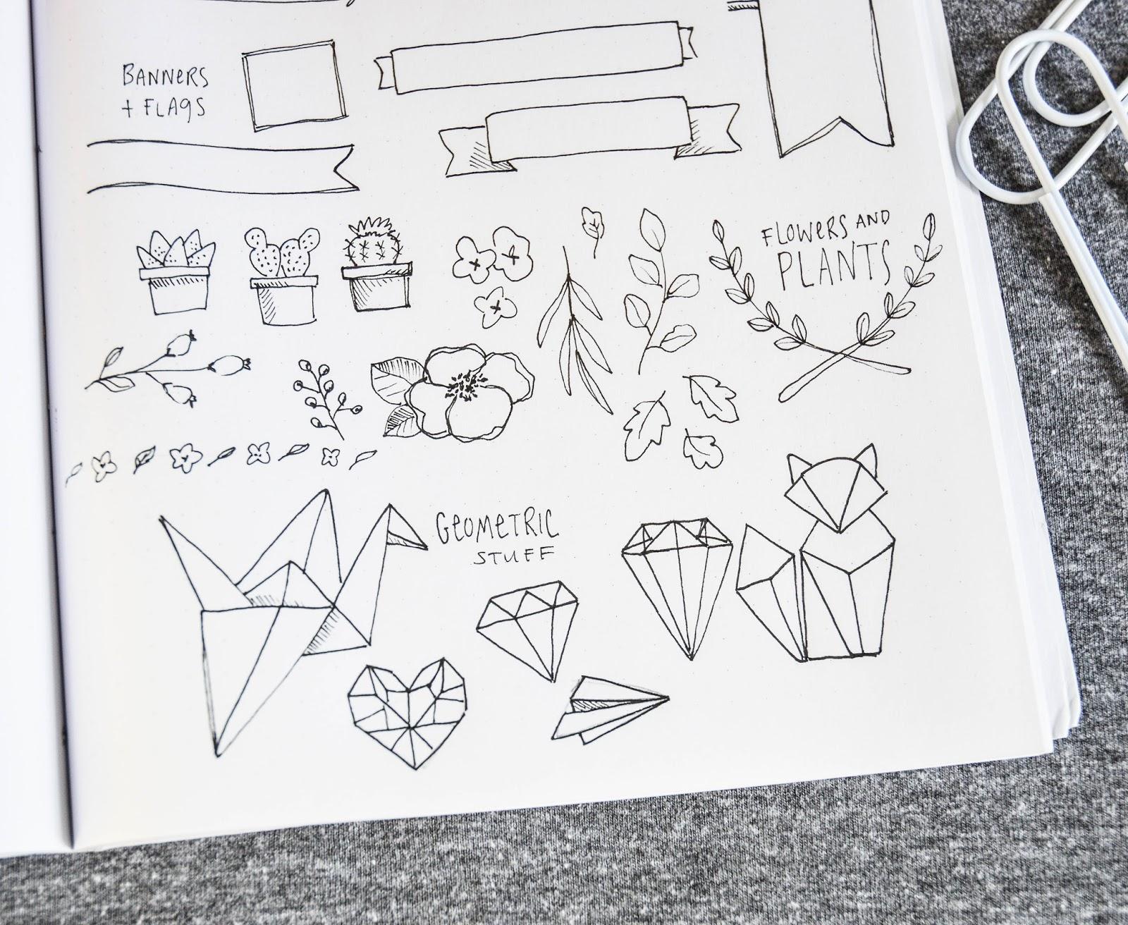 Top Shayda Campbell: Bullet Journal Doodles &LU66
