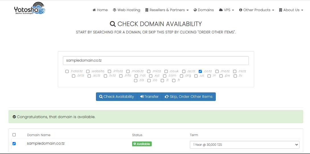 yatosha tanzania dudumizi godaddy extreme web technologies web hosting in tanzania domain hosting domain name duhosting