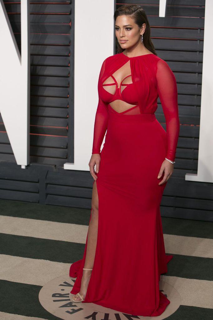 Ashley Graham Vanity Fair Oscar 2016 Party In Beverly