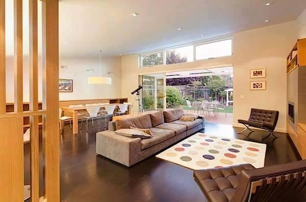 20 Contoh Desain Ruang Makan Sekaligus Ruang Keluarga