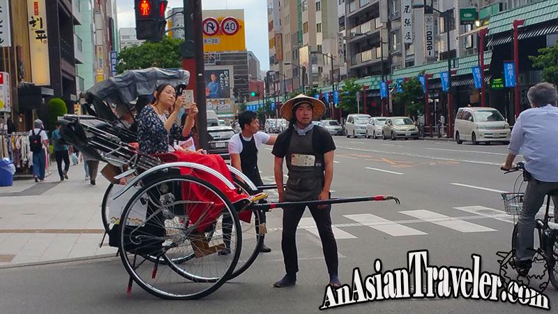 Jinrikisha Japanese Rickshaw