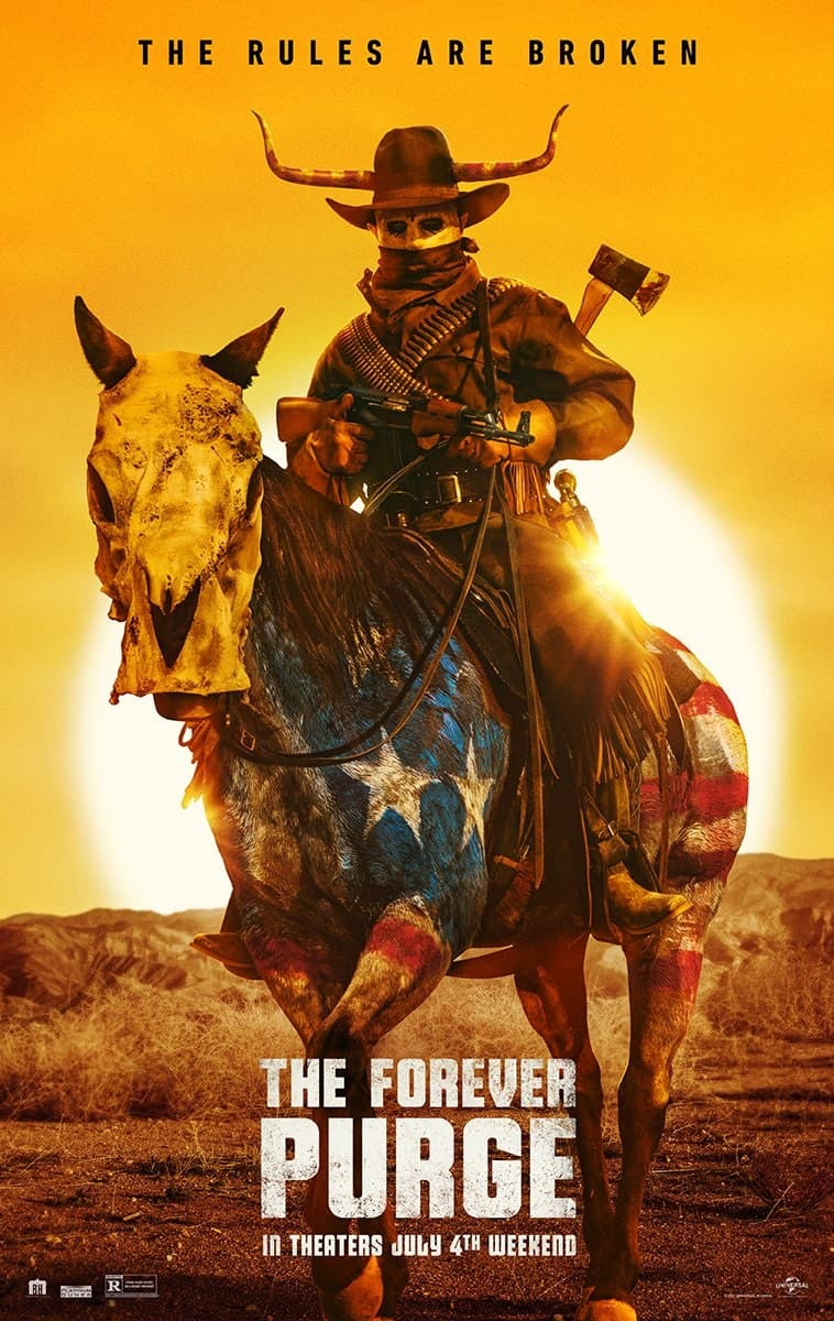 Universal показала трейлер хоррора «Судная ночь навсегда» - Постер