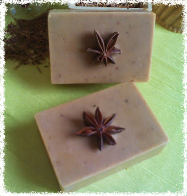 Jabón natural de Cerezas
