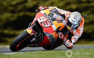 Hasil MotoGP Australia 2017: Marquez Tercepat Latihan Bebas Keempat (FP4)