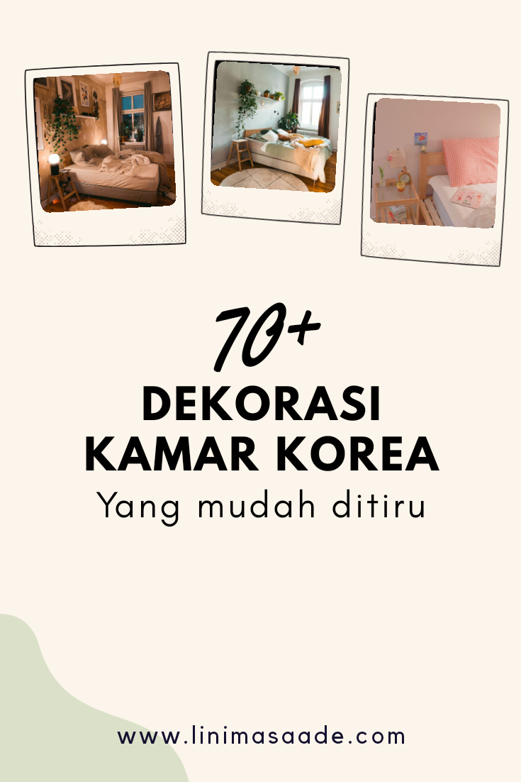 70+ Inspirasi Dekorasi Kamar Korea Minimalis Mudah di Tiru
