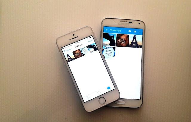 Mentransfer Konten dari iOS ke Android