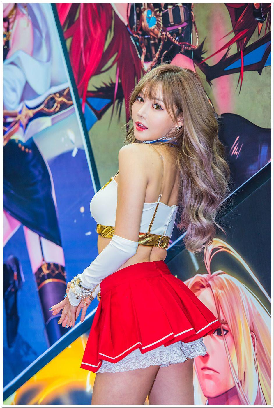 Korean Model Han Ga Eun - 2016 G-Star