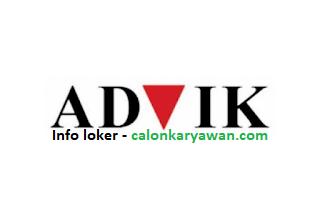 Lowongan Kerja PT Advik Indonesia Terbaru