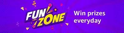 amazon funzone daily quiz answers prime day quiz